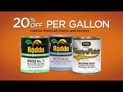 Rodda Paint Warm Your Walls Sale Event Youtube