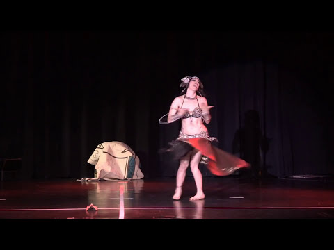 Zoe Jakes Fusion Belly Dance performed at The Massive Spectacular! 2013