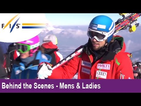 Best of KITZBUEHEL 2013 - 'Behind the Scenes' of the most awesome Downhill in the world!