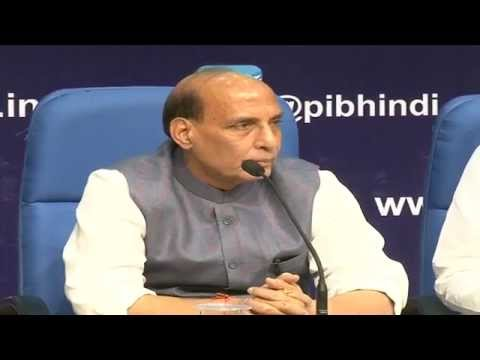 Press Conference by Shri Rajnath Singh on completion of one year of the NDA Govt.