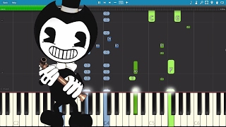 Bendy And The Ink Machine Song - Bend You Till You Break - TryHardNinja - Piano Cover / Tutorial