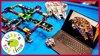 LEGO DIY Colorful ULTIMATE MILLENIUM FALCON 75192! 7,500 PIECES! Fun Toys for Kids!