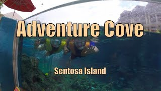 Another place to visit in Sentosa Island! Adventure Cove Waterpark | MagJowang Gala