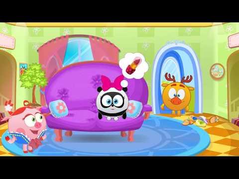 Смешарики и Салон Красоты НЮШИ вместе с Малышариками Игровой мульт для детей