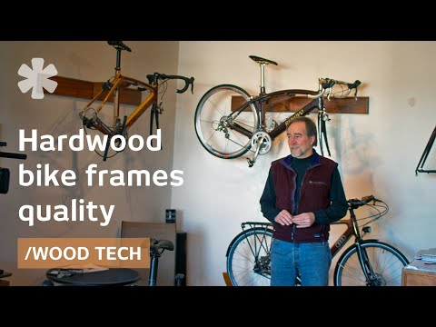 Why hand-crafted, high-tech wooden bikes give a better ride