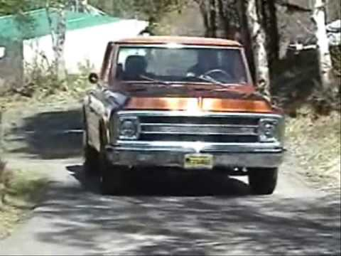 My 69' Chevy C-10 Stepside Moves under its own power for the first time!