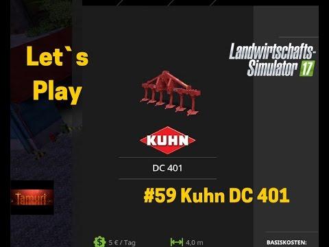LS17 Winterberg Tiere und mehr Let`s Play #59 Kuhn DC 401