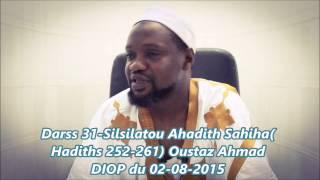 Darss | Silsilatou Ahadith Sahiha - Hadiths 252-261