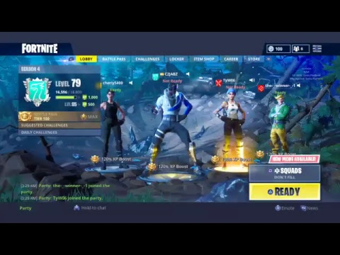 Fortnite daily live stream- CATCHING DUBS NEW BLOCKBUSTER SKIN OUT BET FORTNITE SQUEAKER thumbnail