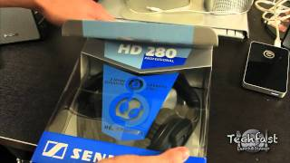 Sennheiser HD 280 Pro Headphones Unboxing