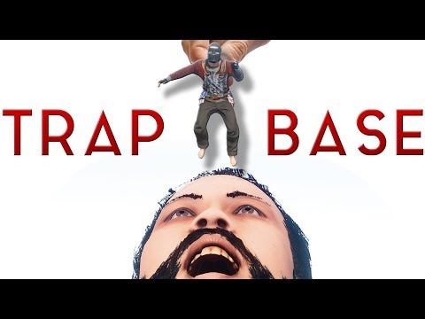 Feeding My Neighbors to My Trap Base | RUST