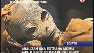 HISTORIA DE LA TV ARGENTINA: EGIPTO, MOMIA EXTRAÑA, UN EXTRATERRESTRE? / 2012
