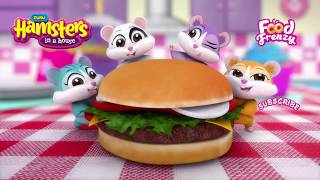 Hamsters in a House – FOOD FRENZY has arrived! | New Toys for Kids | Hamster Toys