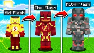 LIFE OF THE FLASH IN MINECRAFT!