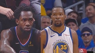 Kevin Durant Gets Sick Of Patrick Beverley & Makes Entire Clippers Pay! Warriors vs Clippers Game 3
