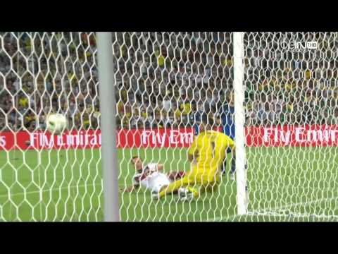 But de mario gotze final coup du monde 2014 HD