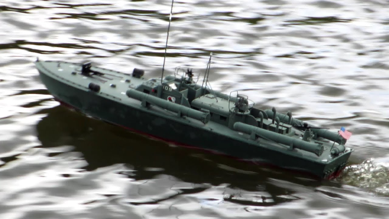 Midwest Pt 109 Elco 80 Class Scale Rc Torpedo Boat Youtube