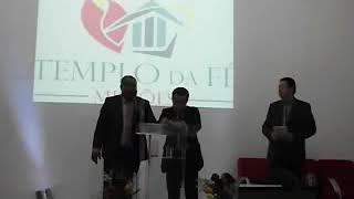 igreja templo da fé com a presença do Reverendo Osni e Banda ministrou o louvor para Deus.   A palavra foi ministrada pelo pastor Jose Lima do Gideões