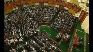 تهديد الرئيس مبارك للجزائر