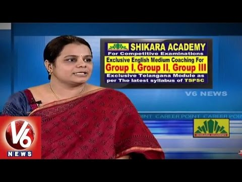 Career Point | TSPSC Notifications | Preparation for Groups | Shikara Academy | V6 News