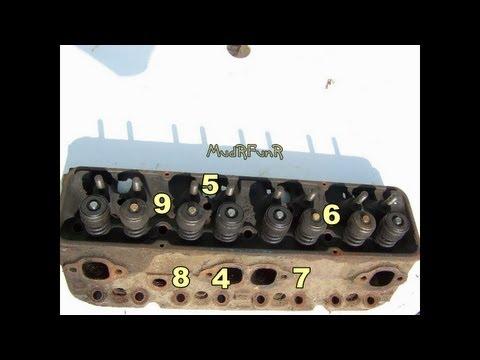 SB Chev Cylinder Head Installation with Engine in Truck - Rewire Part 9
