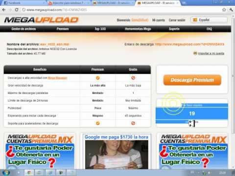 Descargar Antivirus NOD 32 Con Licencia 2011 Setiembre ™