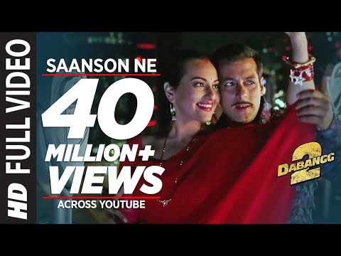 Saanson Ne Baandhi Hai Dor Piya Full Video Song Dabangg 2 |...