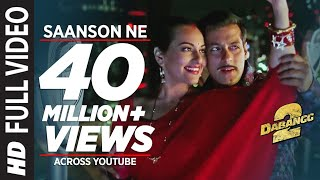 Download Saanson Ne Baandhi Hai Dor Piya Full Video Song Dabangg 2 | Salman Khan, Sonakshi Sinha 3Gp Mp4