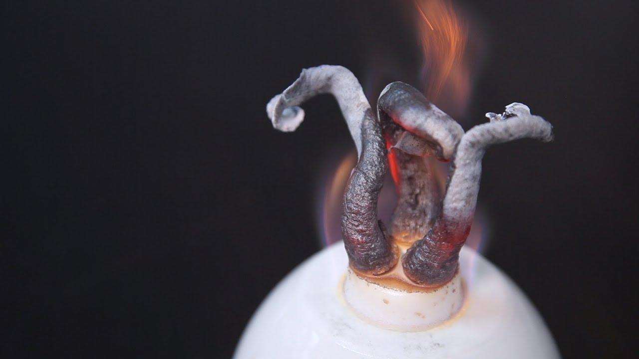 Как сделать химическую змею