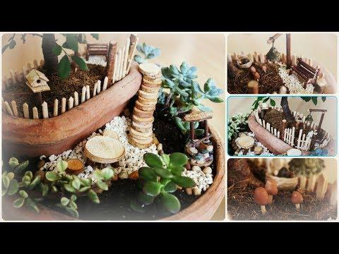 Fairy Garden #6 * DIY * Minigarten im Topf