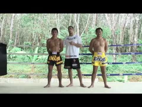 Beginners Muay Thai Instructional: The Muay Thai back leg knee strike @ Tiger Muay Thai Image 1