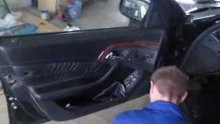 Разборка двери на мерседес s500 s600 w220 / Disassembly of the door on a Mercedes s500 s600 w220