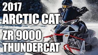 TEST RIDE: 2017 Arctic Cat ZR 9000 Thundercat