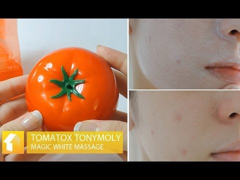 Review - Tomatox Tonymoly Magic White Massage