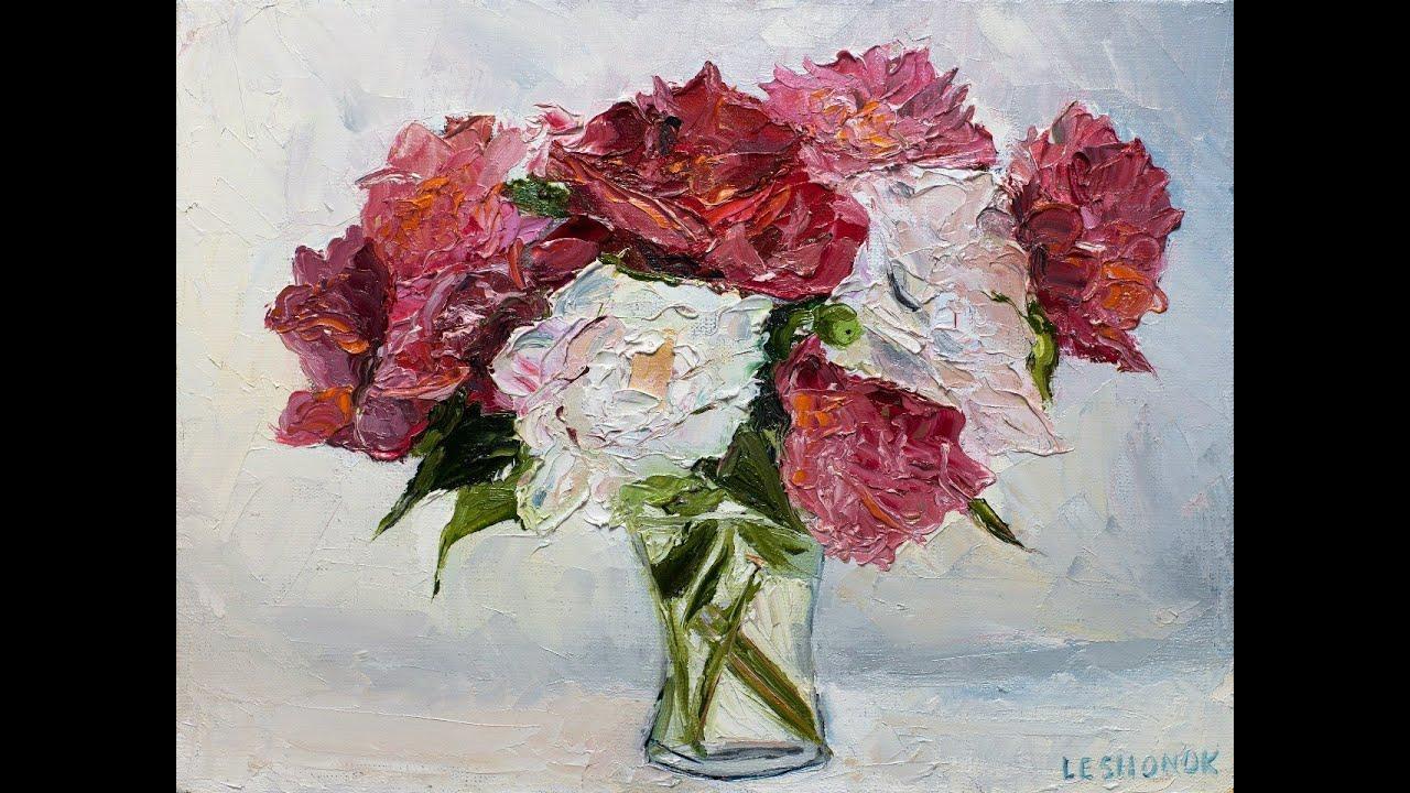 ... рисовать цветы. Живопись маслом. - YouTube: www.youtube.com/watch?v=TBUB2KTHDUs