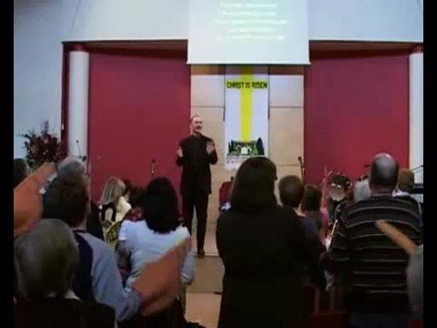 Referee Mike McCurry filmed singing Rangers song in church