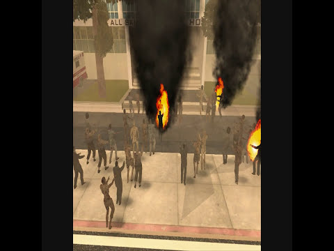 gta sa invasion zombie trailer