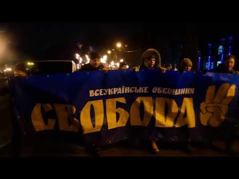 У Хмельницькому пройшов традиційний смолоскипний марш присвячений крутянцям