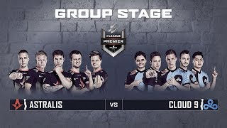 ELEAGUE CS:GO Premier 2018 - Astralis vs Cloud9 - Group Stage