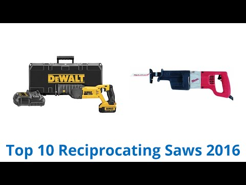 10 Best Reciprocating Saws 2016