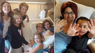 Mom of 5 Donates Kidney to Single Mom She Met at Church