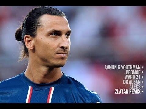 Sanjin & Youthman feat Promoe, Ward 21, Dr Alban & Aleks - Zlatan (Remix)