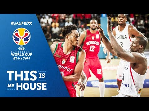 Angola v Morocco - Full Game - FIBA Basketball World Cup 2019 - African Qualifiers