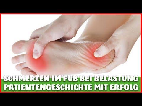 SCHMERZEN im FUß (Hallux Valgus, Plantarfasziitis, Fersensporn) PATIENTENGESCHICHTE