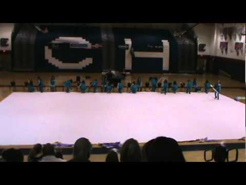 Silverado High School's Winterguard Competition @ Coronado High 2/17/11