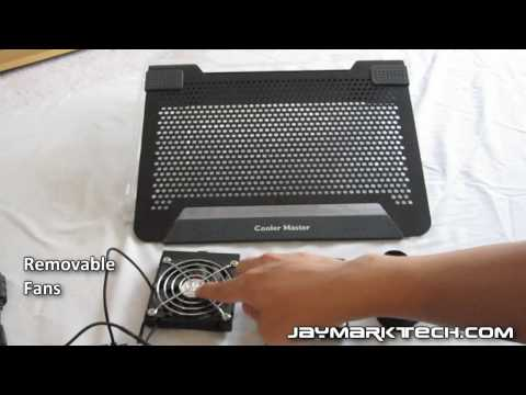 Cooler Master Notepal U2 Notebook Cooler Review