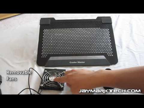 Cooler Master Notepal U2 Notebook Cooler Review