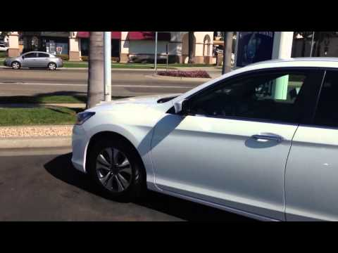 2013 Honda accord lx sedan white orchid pearl
