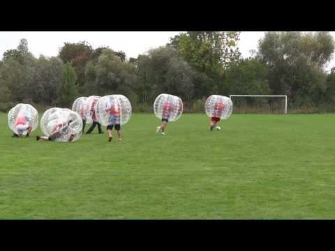 Bąbelkowa Pilka Nożna Bubble Football Na Podkarpaciu, Mecz Buszkowice Kontra Bolestraszyce Część 2