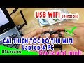 Usb wifi 802.11n hands on |Đánh giá usb wifi lazada | NTA review thumbnail